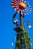 Kalifornien-Abenteuer hört Leben-Ameise auf Windmühle ab Lizenzfreie Stockbilder