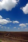 Kalifornien-Ackerland Stockfoto