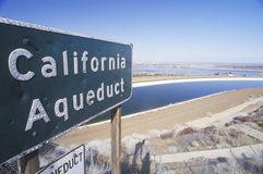 Kalifornien akvedukt Arkivbilder