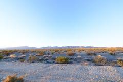 Kalifornien berg arkivbild
