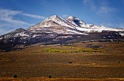 Kalifornien bergnevada toppig bergskedja Royaltyfri Fotografi