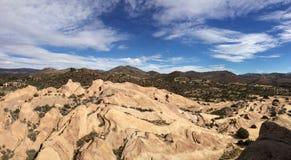 Kalifornien bergskedja Arkivbild