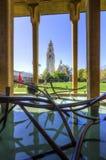 Kalifornien byggnad, Balboa parkerar royaltyfri bild