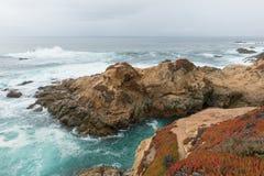Kalifornien centralkust Royaltyfri Bild