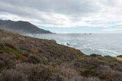 Kalifornien centralkust Arkivbilder