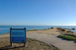 Kalifornien cruzsanta seashore Royaltyfri Fotografi