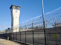 Kalifornien delstatsfängelse - CRC, Norco Kalifornien arkivfoton