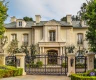 Kalifornien dröm- hus Beverly Hills Arkivfoto