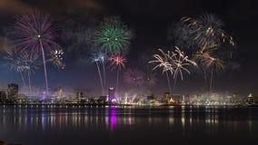 Kalifornien-Feuerwerke lizenzfreies stockfoto