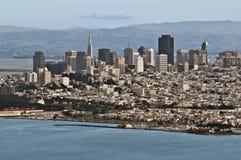 Kalifornien francisco san horisont Fotografering för Bildbyråer