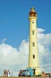 Kalifornien fyr (Aruba) Arkivbild