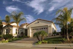 Kalifornien-Haus stockfotos