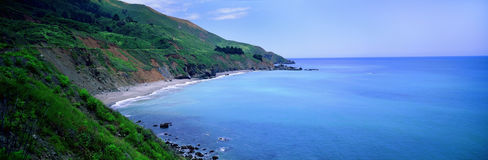 Kalifornien havsikt Royaltyfri Bild