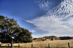 Kalifornien-Himmel Stockbild