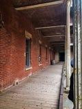 Kalifornien historiskt väg-och vattenbyggnadhall arkivfoto