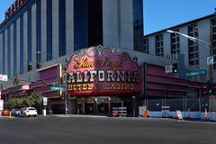 Kalifornien, hotell och kasino Arkivfoto