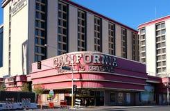 Kalifornien hotell och kasino Arkivfoto