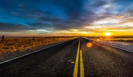 Kalifornien huvudväg royaltyfri foto