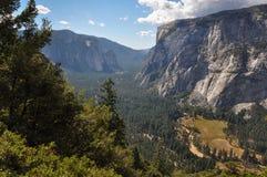 Kalifornien 2007 januari nationalpark tagna USA yosemite Royaltyfri Fotografi