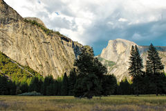 Kalifornien 2007 januari nationalpark tagna USA yosemite Royaltyfri Foto