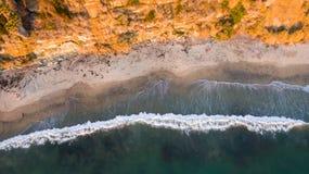 Kalifornien-Küste Stockfotografie