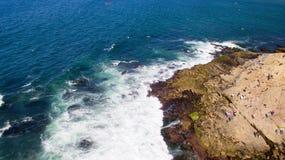 Kalifornien-Küste Stockfotos