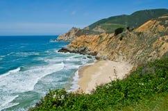 Kalifornien-Küstenlinie Stockfoto