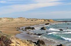 Kalifornien-Küstenlinie Stockfotografie