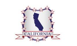 Kalifornien-Kamm Stockfoto