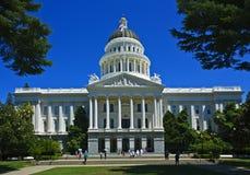 Kalifornien-Kapitol, Sacramento Stockbild