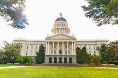Kalifornien Kapitoliumbyggnad Royaltyfria Bilder