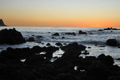 Kalifornien-Klippen Stockfotografie