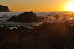 Kalifornien-Klippen Lizenzfreies Stockbild