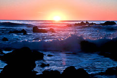 Kalifornien-Klippen Lizenzfreie Stockfotografie