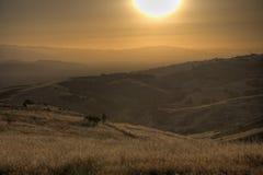 Kalifornien kullar Royaltyfri Foto