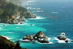 Kalifornien kust Arkivbild