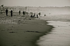 Kalifornien kust- kultur Arkivbild