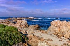Kalifornien kustlandskap Arkivfoton