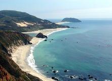 Kalifornien kustlinje Arkivbild