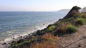 Kalifornien kustlinje lager videofilmer