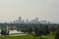 Kalifornien löpeldorsak Denver Haze Arkivfoto