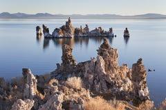 Kalifornien lake mono USA Royaltyfri Fotografi