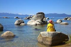 Kalifornien Lake Tahoe Royaltyfri Fotografi