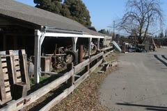 Kalifornien lantgård arkivfoton