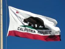 Kalifornien-Markierungsfahne Stockbilder