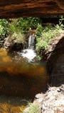 Kalifornien-Naturnebenflusswasserfall Lizenzfreies Stockfoto