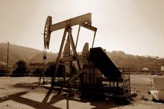 Kalifornien oljewell Fotografering för Bildbyråer