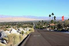 Kalifornien Palm Spring Arkivbild