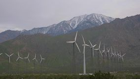 Kalifornien Palm Spring turbinwind stock video