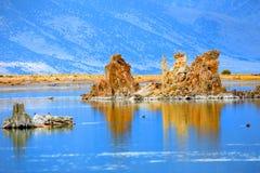 Kalifornien placerar den ovanliga laken 2008 mono västra Royaltyfri Bild